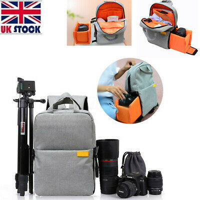 DSLR Camera Photography Backpack Rucksack Travel Hiking Bag For Canon Nikon Sony