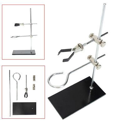 US 29CM Laboratory Lab Bracket Support Stands Clamp For Flask Alcohol Bottle