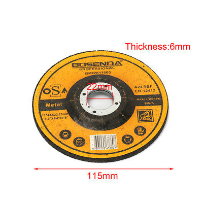 115MM Resin Cutting Wheel Grinding Disc Rotary Abrasive Tool For Metal 22MM Bore