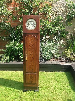 Antique Art Deco Grandfather Clock~