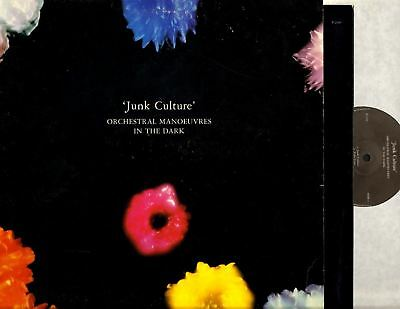 ORCHESTRAL MANOEUVRES IN THE DARK (OMD) junk culture (uk 1984 & inner) LP EX/VG+