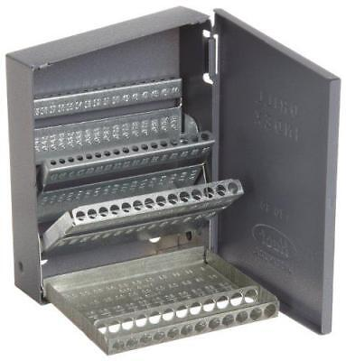 Huot wire sizes 1 to 80 drill bit dispenser organizer cabinet huot 10600 drill bit index for wire gauge sizes 1 to 60 greentooth Gallery