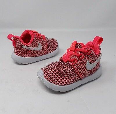 NIKE ROSHE ONE (TDV) 749425-102 Triple White Infant Toddler Running ... 56a816bea9