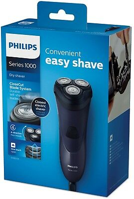 Philips Series 1000 - Closecut Dry Electric Face Shaver - S1100/04 - Black