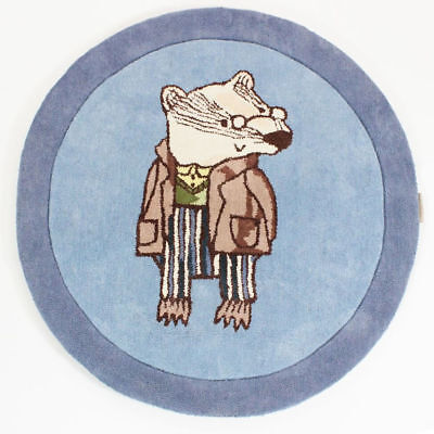 Brendan Badger Rugs, Not Before Tea, Round 90cm (3ft) X3