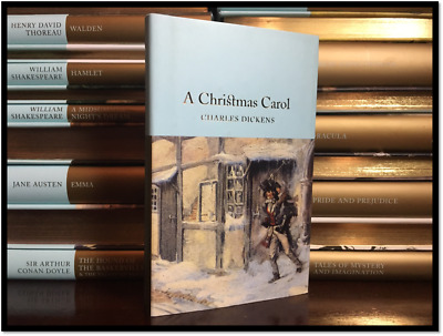 A Christmas Carol by C. Dickens Illustrated New Deluxe Cloth Bound Collectible