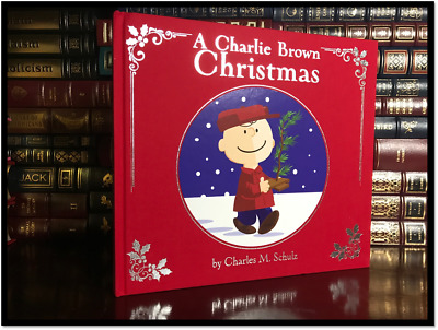 A Charlie Brown Christmas New Illustrated Deluxe Edition Hardcover Peanuts Gift