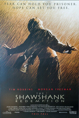 The Shawshank Redemption Classic Movie Large Poster Art Print Maxi A0 A1 A2 A3