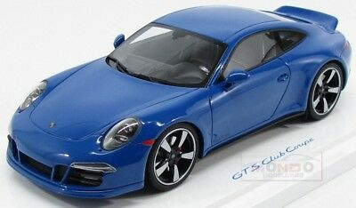 Porsche 911 991 Carrera Gts Club Coupe 2015 GT Spirit 1:18 WAX02100006 Model
