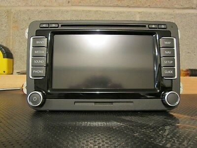 VW RNS-510 NAVIGATION Radio RNS510 Head Unit 3C0035684L GPS MK5 MK6 V11  Maps SSD