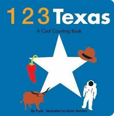 NEW 123 Texas By Puck Board Book Free Shipping