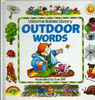 Outdoor Words by Tyler, Jenny Hardback Book The Cheap Fast Free Post