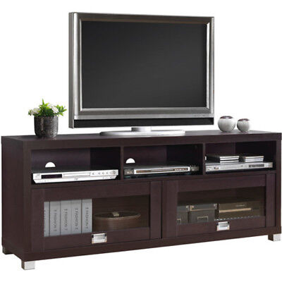 TV Stand Entertainment Center Modern Wood Up To 65 Inch TV Media Storage  Console
