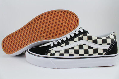 Vans Old Skool Primary Checkerboard Black/off White Check Kids Boys Youth Sizes
