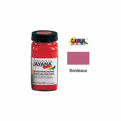 Javana Seidenmalfarbe 1000ml Burdeos