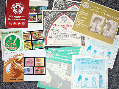 RARE Collection of 10 x Pacific Post Office Packs in good condition, Going Cheap