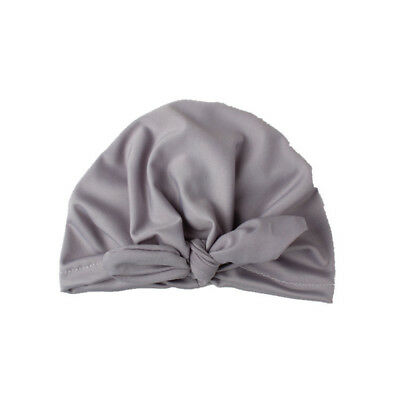Cute GBD Baby Bow Hat Baby Turban Cap Toddler Beanie Home Child Care Keep Warm