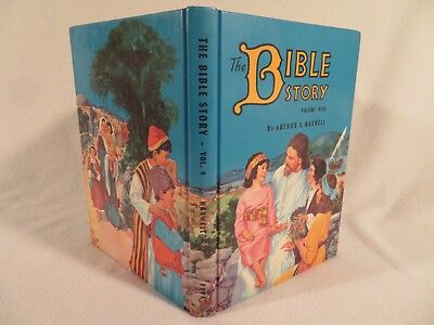 Vintage HC The Bible Story by Arthur S. Maxwell PPPA ~ 1957 Volume 9