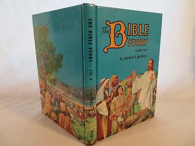 Vintage HC The Bible Story by Arthur S. Maxwell PPPA ~ 1956 Volume 8