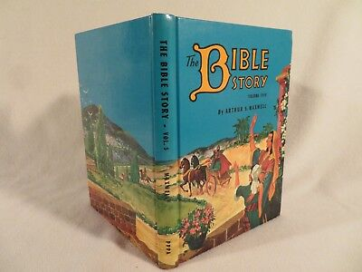 Vintage HC The Bible Story by Arthur S. Maxwell PPPA ~ 1955 Volume 5