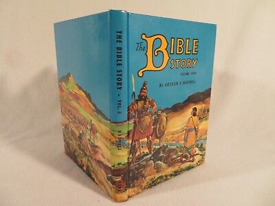 Vintage HC The Bible Story by Arthur S. Maxwell PPPA ~ 1955 Volume 4