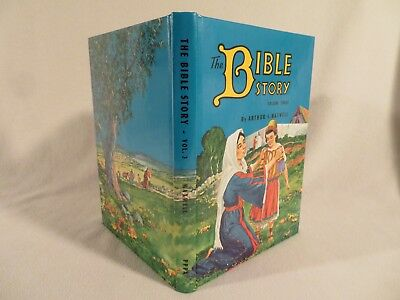 Vintage HC The Bible Story by Arthur S. Maxwell PPPA ~ 1982 Volume 3