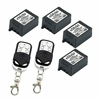 eMylo® AC 220V 1000W 4x 1 Canale RF relè Smart Wireless Remote Control Light Swi