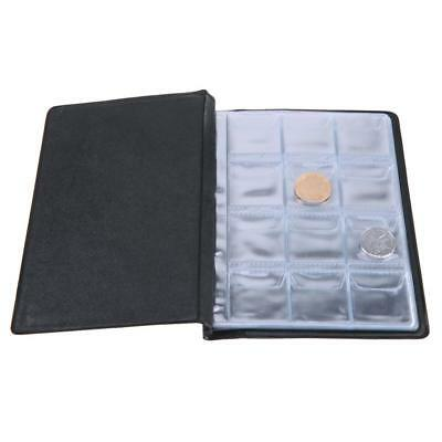 120 Coins Collection Album Holder Storage Money Penny Book Collecting Pockets