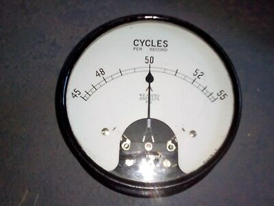 large 50hz 230 volt meter