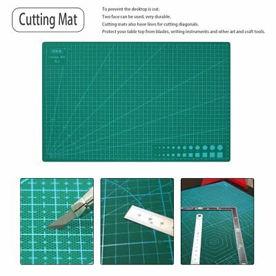 *45x30CM A3 Double Sided Self Healing Rotary Knife Cutting Mat Paper Cut Board U