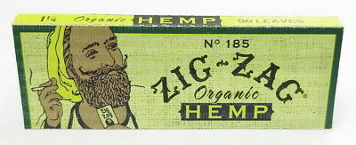 24 PK Zig Zag Green Light 185 1 1/4 Cigarette 1.25 Rolling Paper Authentic