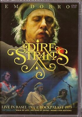Dvd  ..   Dire Straits ..    Live In Basel 1992 / Rock Palast 1979  New & Sealed