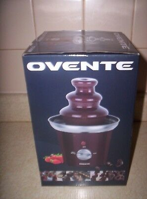 Ovente Chocolate Fountain 2 Tier Graduations Weddings Parties New In Box!!