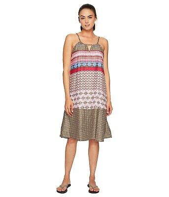 aed5a2f3d0 NEW PRANA WOMENS Dress Large Summer Tie Dye Purple Gray Long Casual ...