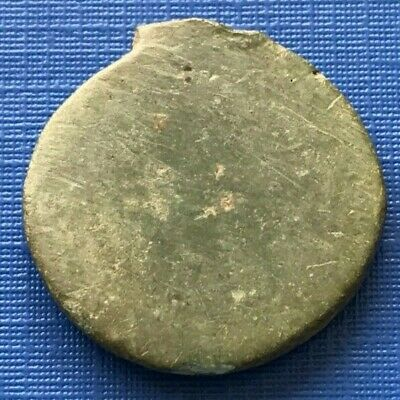 Extremely rare Ancient Roman bronze blank coin core 1 - 2nd Century AD - B79