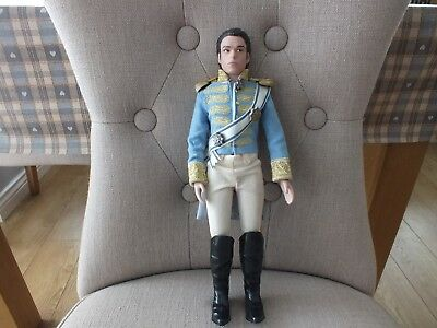 Disney Store Cinderella Prince Charming Live Action Movie Collection Doll