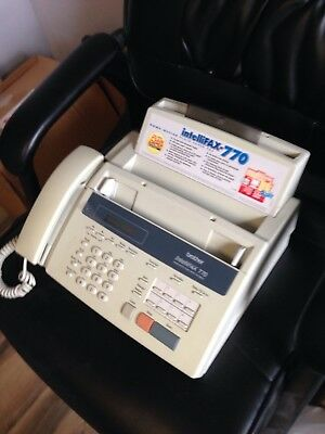 Brother IntelliFax 770 Plain Paper Fax Machine Phone Copier