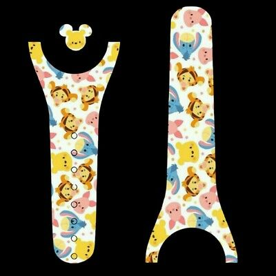 For Disney Magic Band 2 Decal Sticker Skin Pooh Inspired