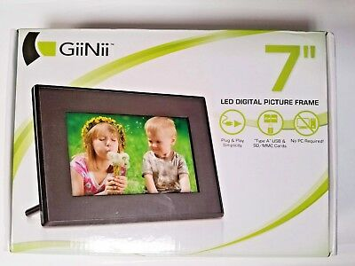 GIINII TECH LED Digital Picture Photo Frame 7\