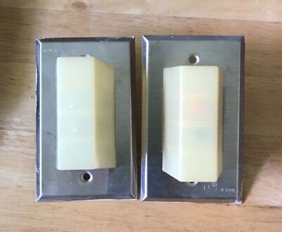 2 used Jeron 8803 Replacement 3 bulb type Nurse Call System Dome Lights