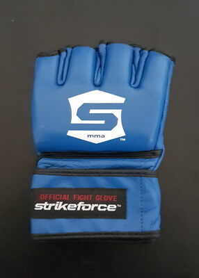 OFFICIAL STRIKEFORCE MMA Blue Fight Glove SIZE LARGE UFC