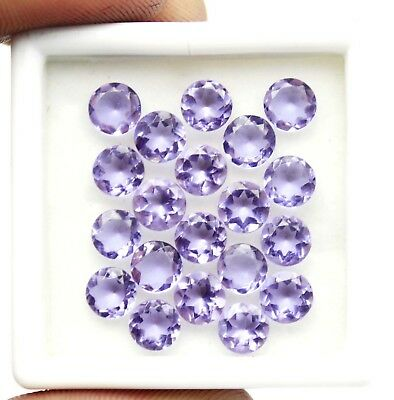 14.92Ct EGL Certified Round Shape Color Changing Alexandrite Gemstone Lot AB90