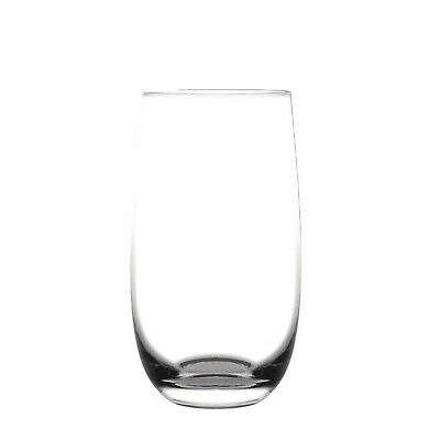 6x Glass 390ml Olympia Rounded Hi-Ball Tumbler Commercial Bar Restaurant Cafe