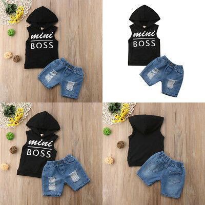 Newborn Toddler Baby Boys Clothes T-shirt Tops+Pants Outfits Set 2pcs
