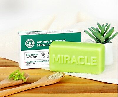 [SOMEBYMI] AHA-BHA-PHA 30 Days MIRACLE Cleansing Bar [106g] - Korea Cosmetic