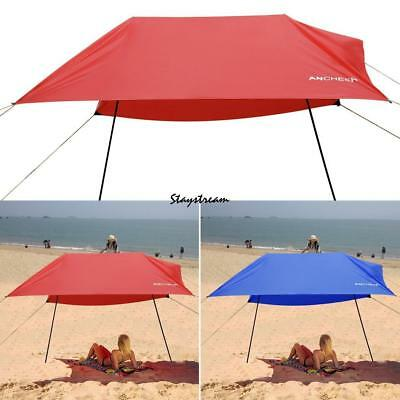 Sun Shelter Beach Portable Canopy Tent Shade Umbrella Outdoor Camping Cabana New
