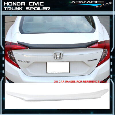 For Acura TSX 09-14 4Dr Trunk Spoiler Rear Painted ORCHID WHITE PEARL NH788P