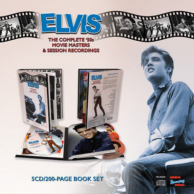 Elvis Presley : The Complete '50s Movie Masters & Session Recordings CD Box Set