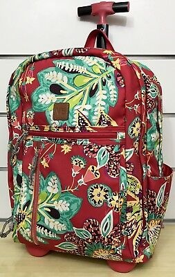 a8776b765c11 VERA BRADLEY LIGHTEN Up Rolling Backpack in Rumba -  76.99
