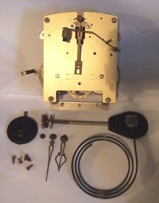 Smiths 8 Day Striking Clock Movement. Rare Version With Silent Option